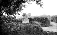 Bridport, King Charles Ii Stone 1912