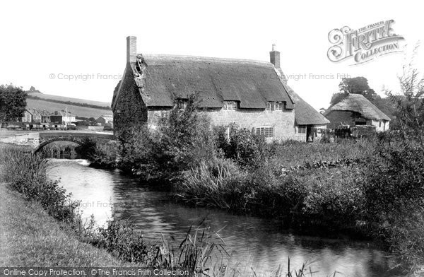 Bridport, Old Cottages 1897
