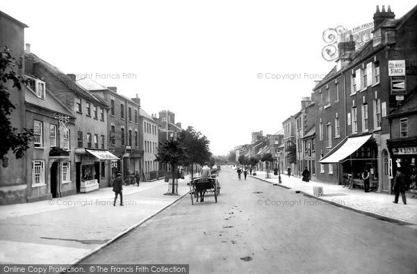 Bridport, South Street 1912