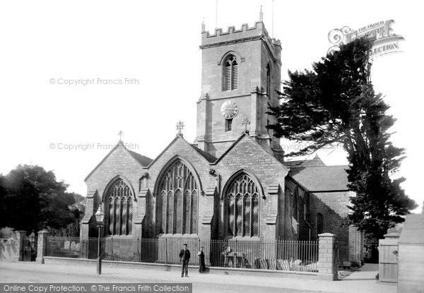 Photo of Bridport, St Mary's Church 1897