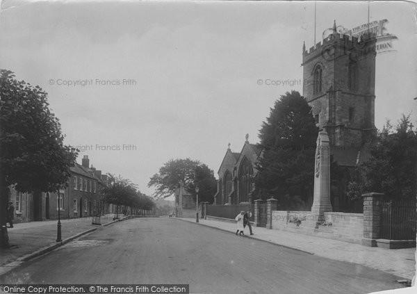Bridport, St Mary's Church And Cenotaph, North Street 1922