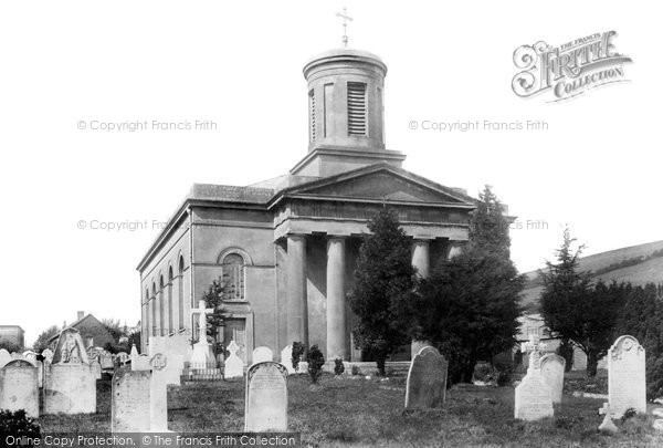 Bridport, St Swithun's Church 1897