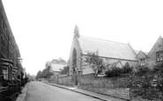 Bridport, Victoria Grove And Roman Catholic Church 1913