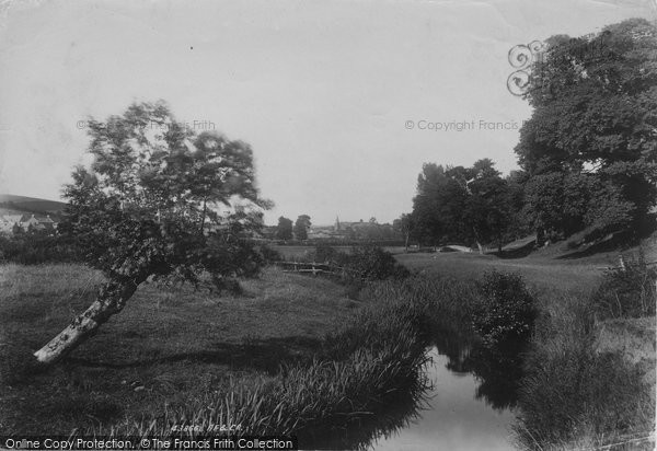 Bridport, View Near Happy Island 1899