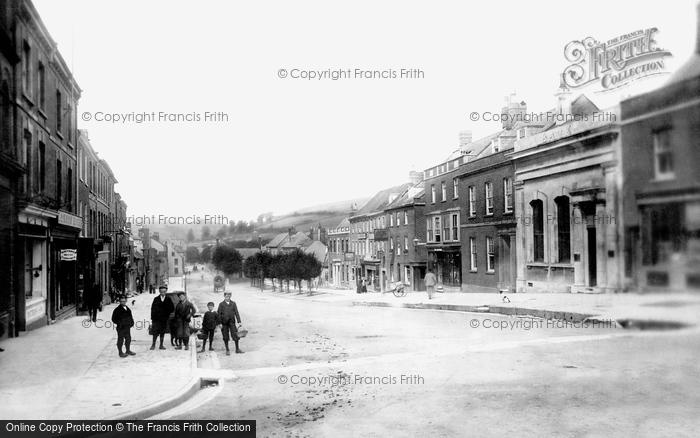 Bridport, West Street 1897