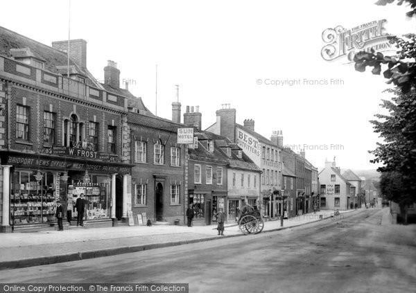 Bridport, West Street 1909