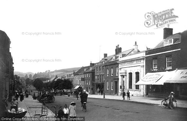 Bridport, West Street 1913