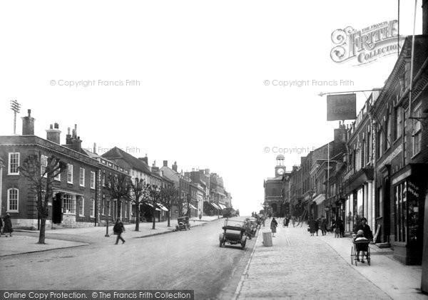 Bridport, West Street 1927