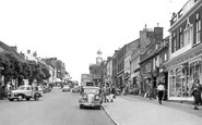 Bridport, West Street c.1955