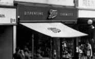 Brierley Hill, Boots Chemist, High Street c.1965
