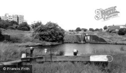 Brierley Hill, Delph Locks c.1965