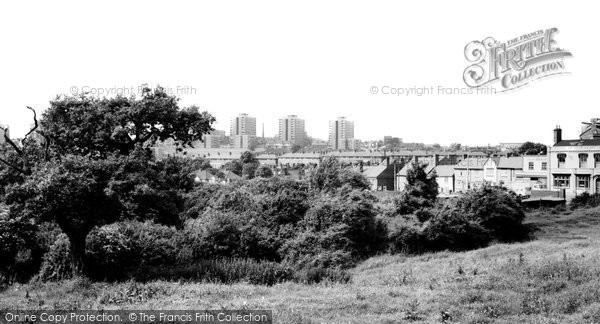 Brierley Hill, From Amblecote Road c.1965