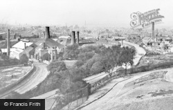 Brierley Hill, From The Park c.1925