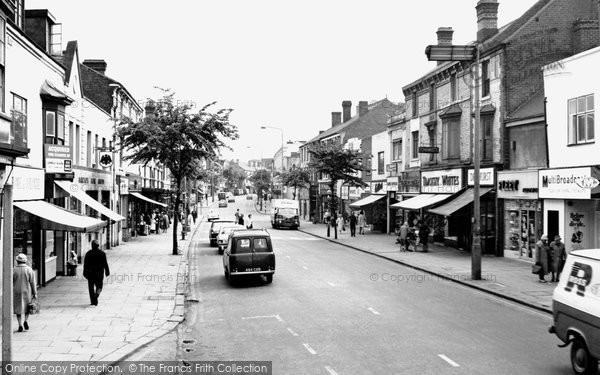 Photo of Brierley Hill, High Street 1968