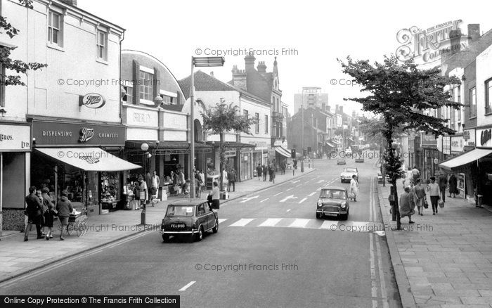 Brierley Hill, High Street c.1965
