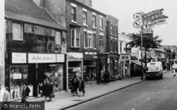 Brierley Hill, High Street Shops c.1968