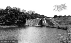 Brierley Hill, The Canal Locks c.1965