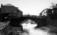 Brigg, Ancholme Bridge c.1955