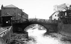 Brigg, Ancholme Bridge c.1955