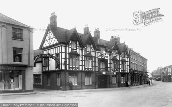 Photo of Brigg, Angel Hotel c1955