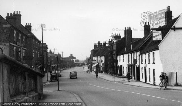 Brigg, Bridge Street c.1955