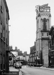 Brigg, Church, Bigby Street c.1955
