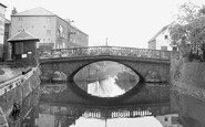Brigg, County Bridge c.1955