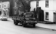 Brigg, Lorry In Bridge Street c.1960