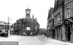Brigg, Market Place 1954