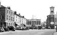 Brigg, Market Place c.1955