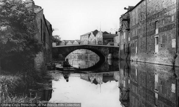 Photo of Brigg, the Bridge c1960