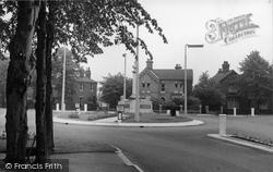Brigg, The Memorial c.1955