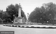 Brigg, The War Memorial c.1950