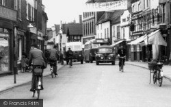 Brigg, Wrawby Street 1954