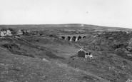 Brighstone, Bridge And Downs c.1960