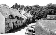 Brighstone, Old Cottages c.1955