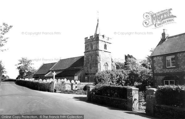 Brighstone, St Mary's Church c.1960
