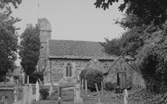 Brighstone, The Church c.1955