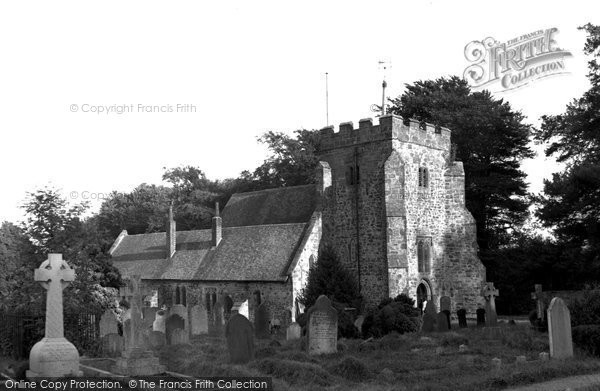 Brightling, Church Of St Thomas A'becket 1952