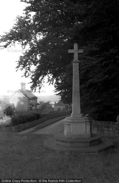 Brightling, The War Memorial 1952