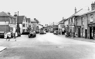 Brightlingsea, High Street c1955