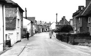 Brightlingsea, High Street c1960