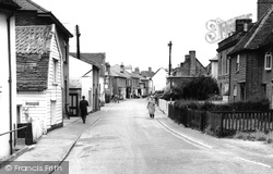 Brightlingsea, High Street c.1960