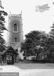 Brightlingsea, Parish Church Of All Saints c.1960