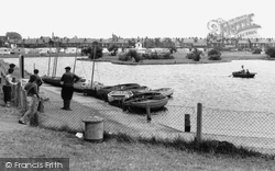 Brightlingsea, The Boating Lake c.1963