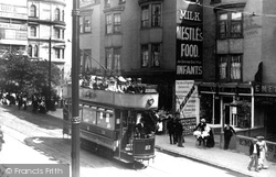 Brighton, A Tram In Queen's Road c.1902