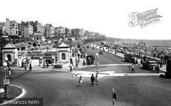 Brighton, Aquarium And Promenade c.1955