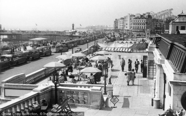 Brighton, Aquarium Terrace c.1950