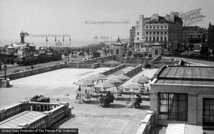 Photo of Brighton, Aquarium Terrace c.1950