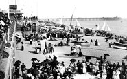 Brighton, Beach And Pier 1898